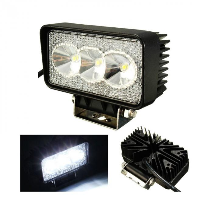 Mini 12V LED Vehicle Work Light 110 * 60 * 56 Mm Size CE Certification