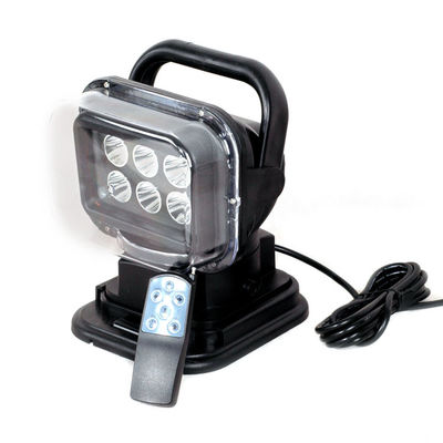 الصين Auto LED Search Light Remote Control Style 2400 Lumen IP 67 Waterproof مصنع
