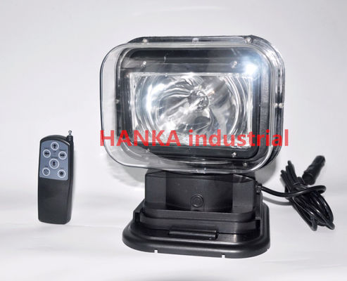 الصين 60w 360 Degree Offroad HID Searchlight ,  Xenon Rotating Marine Search Light مصنع